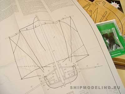 Viking SHIP(Mantua) масштаб 1:40