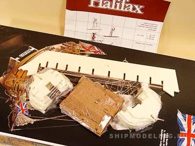 Halifax масштаб 1:54
