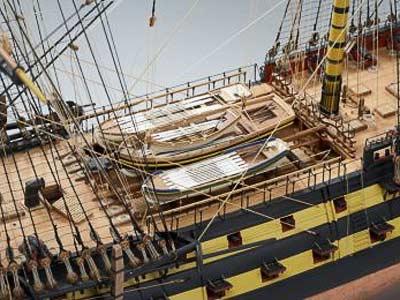 HMS Vanguard масштаб 1:72