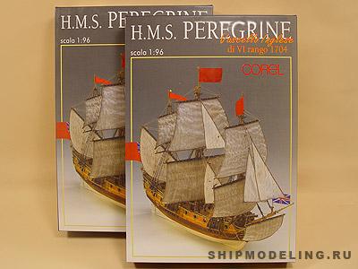 HMS Peregrine масштаб 1:96