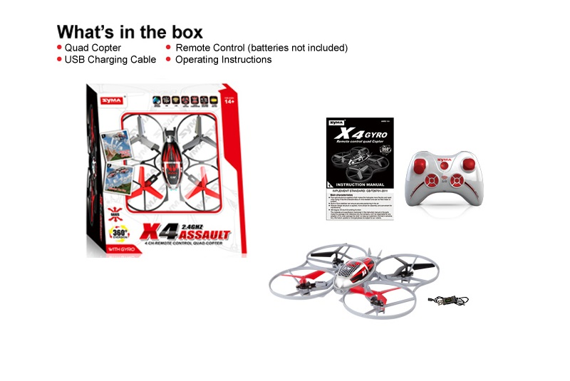 Syma X4 4CH quadcopter with 6AXIS Gyro