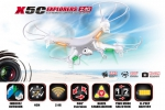 Syma X5C 4CH quadcopter with 6AXIS Gyro (с камерой)