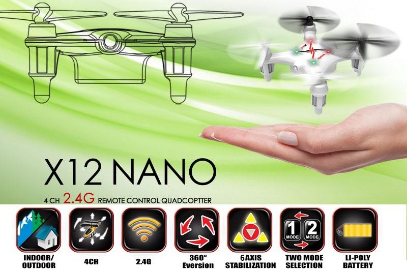 Квадрокоптер SYMA X12 2.4G