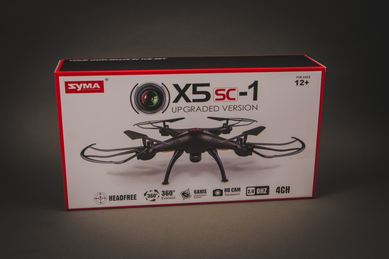 X5SW 4CH quadcopter with 6AXIS Gyro (с FPV камерой)