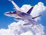 07239 Самолет F/A-18E Super Hornet (HASEGAWA) 1/48