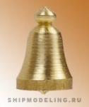 Судовой колокол, латунь, 6 мм, 2 шт