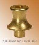 Шпиль современного типа, латунь, 6,5 мм
