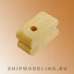 Блок, одношкивный, самшит,  5 мм, 20 шт