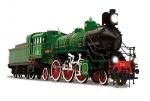 Модель паровоза С-68 масштаб 1:32