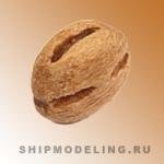 Блок, одношкивный, груша, 5 мм, 10 шт