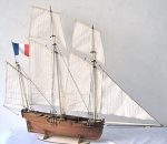 LE Coureur 1776 масштаб 1:48