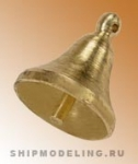 Судовой колокол, латунь, 9 мм, 2 шт