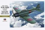 08884 Самолет Mitsubishi A6M5c Zero Fighter Zeke Type 52 (HASEGAWA) 1/32