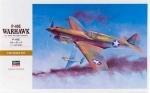 08879 Самолет P-40E Warhawk (HASEGAWA) 1/32