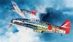 09087 Самолет Kawasaki KI61-I (HASEGAWA) 1/48