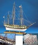 Rattlesnake (Model Shipways) масштаб 1:64