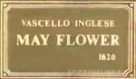 Табличка 70х40 мм Mayflower