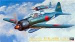 09072 Самолет ZERO FIGHTER TYPE 52 (HASEGAWA) 1/48