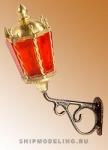 Кормовой фонарь, латунь и пластик, 22 мм