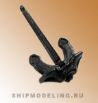 Якорь Холла, металл, 40 мм