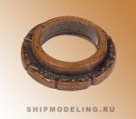 Брюканец с орнаментом, под бронзу, 12 мм