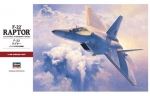 07245 Самолет F-22 Raptor (HASEGAWA) 1/48