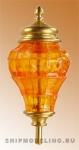 Кормовой фонарь, латунь и пластик, 37мм