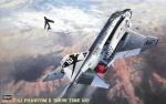 07206 Самолет F-4J W/ONE PIECE CANO (HASEGAWA) 1/48