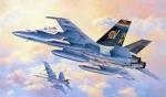 07250 Самолет F-18A/C Hornet (HASEGAWA) 1/48