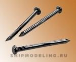 Гвоздь черненный, сталь, 10 мм, 200 шт