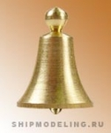 Судовой колокол, латунь, 10 мм, 2 шт