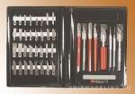 Набор ножей Delux