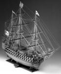 Чертеж корабля HMS Victory