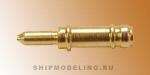 Макет пушки, латунь, 8 мм, 4 шт