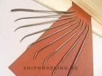 Набор из 10 надфилей-рифлуаров длиной 140 мм