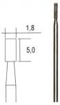 Бор цилиндрический 1,8 мм с алмазным напылением