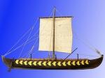 Viking Ship GOKSTAD, IX век масштаб 1:35