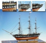 USS CONSTITUTION(Model Shipways) масштаб 1:76