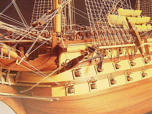 HMS VICTORY(Mantua) масштаб 1:98