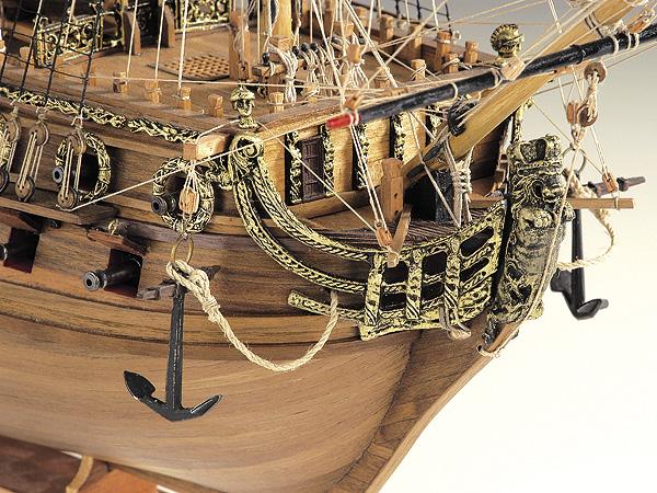 HMS Neptune масштаб 1:90