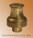 Шпиль современного типа, латунь, 12 мм
