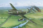 80370 Самолет Messerschmitt Me-262 A-1aU1 (Hobby Boss) 1/48