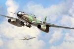 80377 Самолет Me 262 A-2a/U2 (Hobby Boss) 1/48