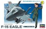 60101 Модель самолета EGG PLANE F-15 EAGLE (HASEGAWA)