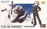 60104 Модель самолета EGG PLANE F/A-18 HORNET(HASEGAWA)