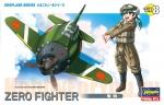 60118 Модель самолета EGG PLANE ZERO FIGHTER (HASEGAWA)