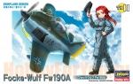 60121 Модель самолета EGG PLANE FOCKE-WULF Fw190A (HASEGAWA)