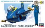 """60125 Модель самолета EGG PLANE F/A-18 HORNET """"BLUE ANGELS"""" (HASEGAWA)"""