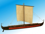 Viking Longship XI век масштаб 1:35