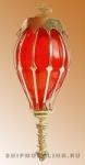 Кормовой фонарь, латунь и пластик, 40 мм